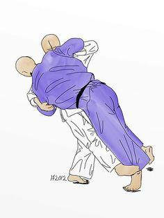 Sasae-tsuri-komi-ashi (支釣込足) Supporting-foot lift-pull throw