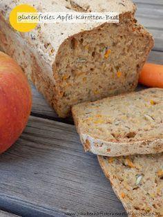 Glutenfreies Apfel-Karotten-Brot ohne Gehzeit