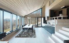 15 cocinas increíbles con suelos de listones de madera · 15 amazing kitchens with plank wooden floors Types Of Wood Flooring, Unique Flooring, Wooden Flooring, Wood Planks, Cuisines Design, Scandinavian Home, Nordic Design, Lorraine, Interior Design Inspiration