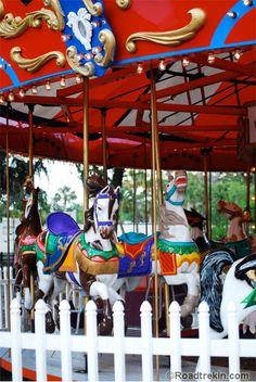 Carousel. St. Augustine, FL.