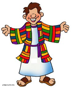 Free clipart for Bible characters - Joseph & Coat of Many Colors