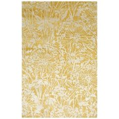 Wild Blossom 2' x 3' Rug in Apricot