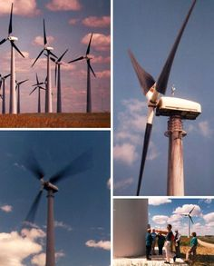 Fan-Tastic! 10 Cool Colorful Wind Turbine Designs