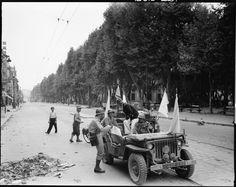 Débarquement de Provence : combats de rue lors de la libération de Marseille. – ECPAD