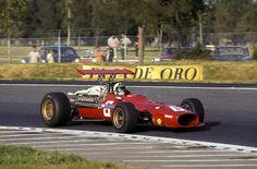 ☼ #F1 1968 Formula 1 Mexican GP - Chris Amon, Ferrari 312