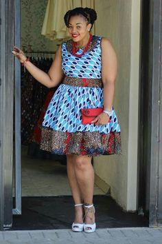 Ankara Xclusive: Beautiful Ankara African Print Style For Plus Size Ladies Short African Dresses, Latest African Fashion Dresses, African Print Dresses, Short Dresses, African Print Clothing, African Print Fashion, African Prints, African Traditional Dresses, African Attire