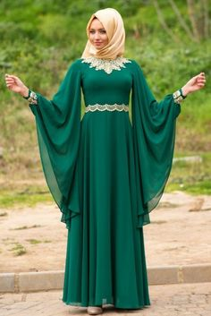 30 Stylish Abaya Designs for Ladies 2018 - Dresses - Crayon Muslim Women Fashion, Arab Fashion, Islamic Fashion, Modest Fashion, African Fashion, Fashion Dresses, Nikkah Dress, Hijab Dress, Hippy Chic