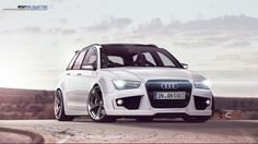 2013 Audi RS4 Avant Tuning Rendering