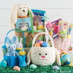 Get ready for Easter morning with adorable baskets, filler and more! Psst—these liners are perfect for personalizing! Easter Party, Easter Gift, Happy Easter, Easter Decor, Unique Gifts For Boys, Gifts For Kids, Bountiful Baskets, Easter Books, Plastic Easter Eggs