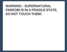 "Luckily, some other fandoms were looking out for us. | Tumblr's Reaction To The ""Supernatural"" Finale"