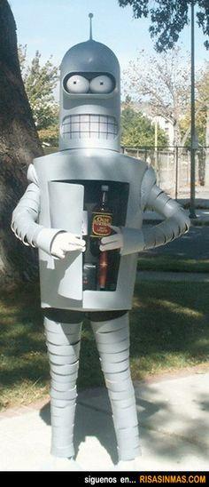 Disfraces originales: Bender.
