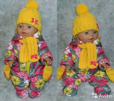 Bitty Baby, Sissi, Baby Born, Snow Suit, Couture, Sadie, Baby Dolls, Sewing Crafts, Doll Clothes