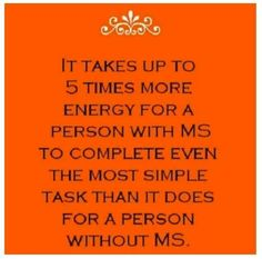 Multiple Sclerosis Funny | Via Jana French