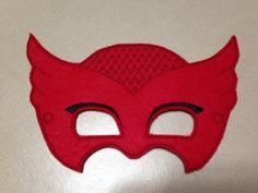 Girl Owl Felt Mask Cat-sessorize!