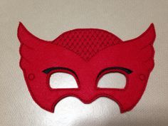 Girl Owl Felt Mask Cat-sessorize!