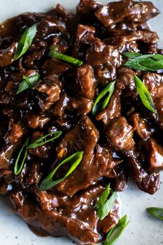 You wont be able to resist the sweet garlic aromas of this sizzling Mongolian beef as it simmers away in the slow-cooker. Serve it with plenty of rice and veggies to mop up the sticky sauce. Best Slow Cooker, Slow Cooker Beef, Slow Cooker Recipes, Crockpot Recipes, Meat Recipes, Cooking Recipes, Healthy Recipes, Recipies, Boeuf Mongol