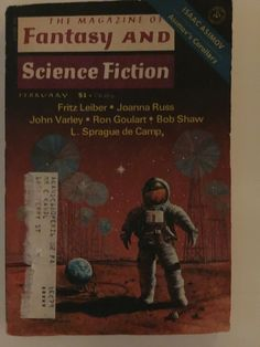 "Fritz Leiber - ""The Pale Brown Thing"" Part 2 of 2.  Fantasy and Science Fiction February 1977."