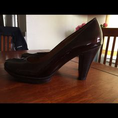 Sofft Heels Sofft heels, never worn outside. Size 10M. Color is almost a metallic brown. Sofft Shoes Heels