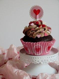 Cookie und Co: Kinderschoko Cupcakes / Muffins