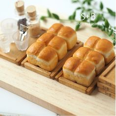 2017. Miniature Bread ♡ ♡  By Sweet Basket