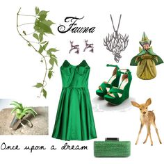 Fauna, created by scarletwitch-2002 on Polyvore