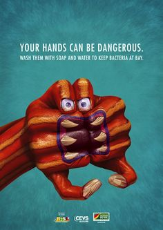 10 Powerfully Creative Hand Hygiene Ads – Online Masters In Public Health #free #online #masters #degree #in #public #health http://tennessee.nef2.com/10-powerfully-creative-hand-hygiene-ads-online-masters-in-public-health-free-online-masters-degree-in-public-health/  # 10 Powerfully Creative Hand Hygiene Ads According to the Centers for Disease Control and Prevention, hand washing is among the most essential and effective steps that can be taken to stop the spread of harmful pathogens. It's…