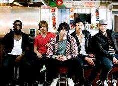 Plain White T's. I've got a thing for good boy bands.