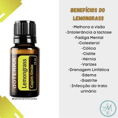 Adriana Miranda, Fadiga Adrenal, Lemon Grass, Essential Oils, Health Fitness, Personal Care, Instagram, Essential Oils Guide, Doterra Essential Oils