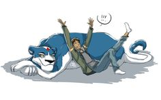 Lance and Blue - by CakeChoz