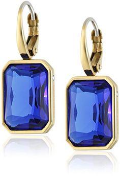 Parisian, Dangles, Perfume Bottles, Michael Kors, Jewels, Drop Earrings, Gold, Fashion Jewelry, Blue
