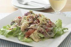 カルパッチョサラダ~塩麹ドレッシング~   ズバうま!おつまみレシピ アサヒビール