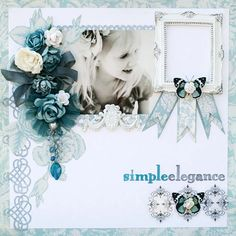 Simple Elegance **CR 50th** - Scrapbook.com