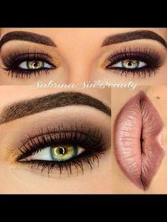Great eye make up for green eyes
