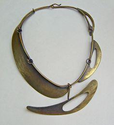 Art Smith brass necklace