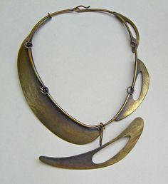 Art Smith brass necklace