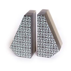 NOOK Bookends - Limited Edition - Special patterns from the partnership with Danny Zappa & Carolina Sacco Photo Rafaela Morgado para www.nevoa.pt