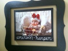 Canvas painting and photo curtsey of Amy Jo Photography.. In love with my new creation!!