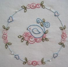 """Are you ready to stitch some sweet new Shabby Rose designs?! I am living the proverb """" slow and steady wins the race """" at the moment because..."""