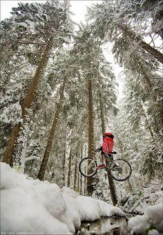 Snow #Mountain #Biking
