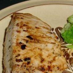 Grilled Citrus Tuna #recipe #tuna