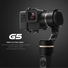 Feiyu FY-G5 Handheld gopro gimbal 3-Axis stabilizer steadicam for GoPro HERO5 4k SJ Action Camera weigh Splashproof Humanized