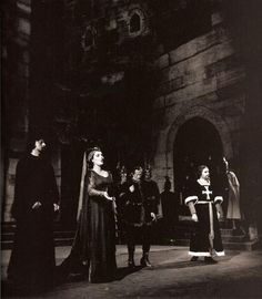 "Maria Callas; debut at the Teatro alla Scala in Milan in Verdi's ""I Vespri Siciliani"", 7 December 1951. #VerdiMuseum"