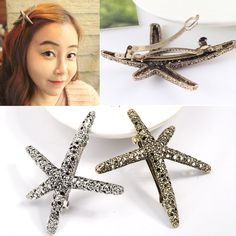 Cheap starfish hair accessories, Buy Quality starfish accessories directly from China hairpins hair accessories Suppliers: AIWGX Women Gold Silver Scissors HairPins Shears Clip For Hair Tiara Barrettes Headdress Head JewelryUSD 0.78-0.85/piece