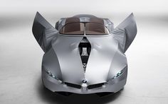 2008 BMW GINA Light Visionary Model. Very cool car. Covered in fabric.
