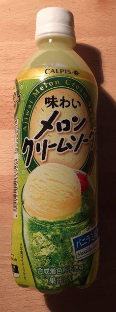 "Calpis ""Melon Cream Soda""500ml Japan Drink | eBay"