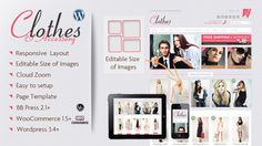 Clothes & Accessory – Responsive WooCommerce Theme