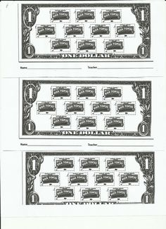 """Box Top dollars.  Each """"dollar"""" you can tape or glue 10 box tops to.  So your child can give the school a """"dollar"""".  Helps my child understand more of the value of money and of boxtops. Enjoy! :)"""