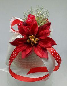 Pallina natalizia handmade