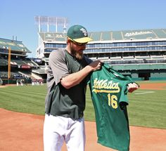 Green jersey > Red Sox. 10,000 A's fans will grab their own Josh Reddick Replica Jersey on Saturday, July 13.
