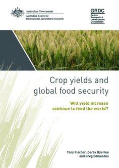 CROP YIELDS AND GLOBAL FOOD SECURITY: WILL YIELD INCREASE CONTINUE TO FEED THE WORLD?. Monografia. La publicació present ofereix un visió prospectiva en torn a la disponibilitat global d'aliments en el futur. I explica a quin ritme i com han d'augmentar els rendiments dels grans cultius per tal d'alimentar a la població mundial d'aquí al 2050